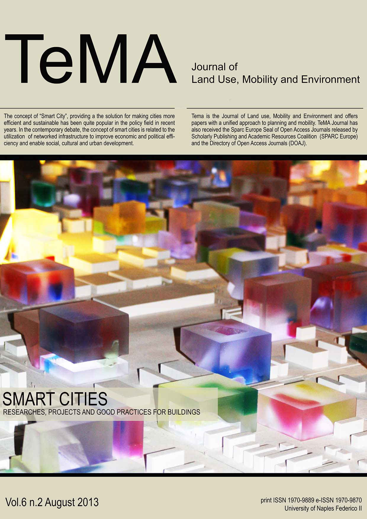 23_Vol 6 N° 2 (2013) Smart Cities Researches, Projects and Good Practices for Buildings